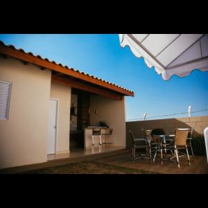 Área de churrasco 02 - Residencial Flórida II - Leme