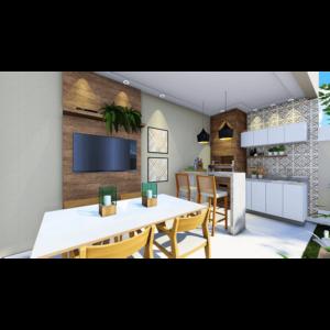 Área de churrasco 03 - Residencial Sylvio Venturolli - Araçatuba