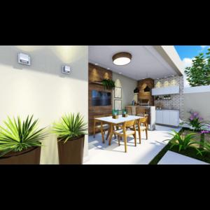 Área de churrasco 04 - Residencial Sylvio Venturolli - Araçatuba
