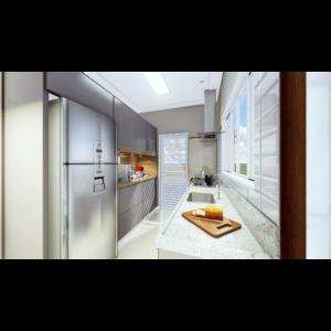 Cozinha -Residencial Sylvio Venturolli - Araçatuba