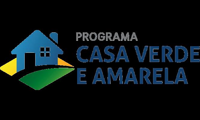 Logo Casa Verde e Amarela